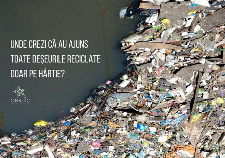 Cum se reciclează legea și se ambalează frumos poluarea