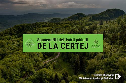 Scrie-i ministrului pentru a opri defrișarea pădurii!