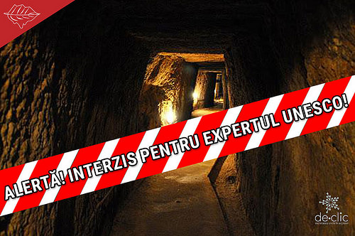 Alerta: Expertul UNESCO nu este lasat in galeriile romane