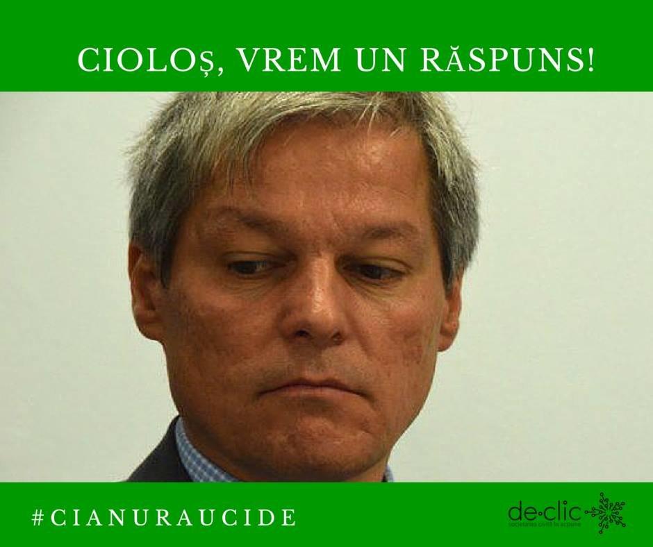 Deranjează-l pe Cioloș cu o întrebare