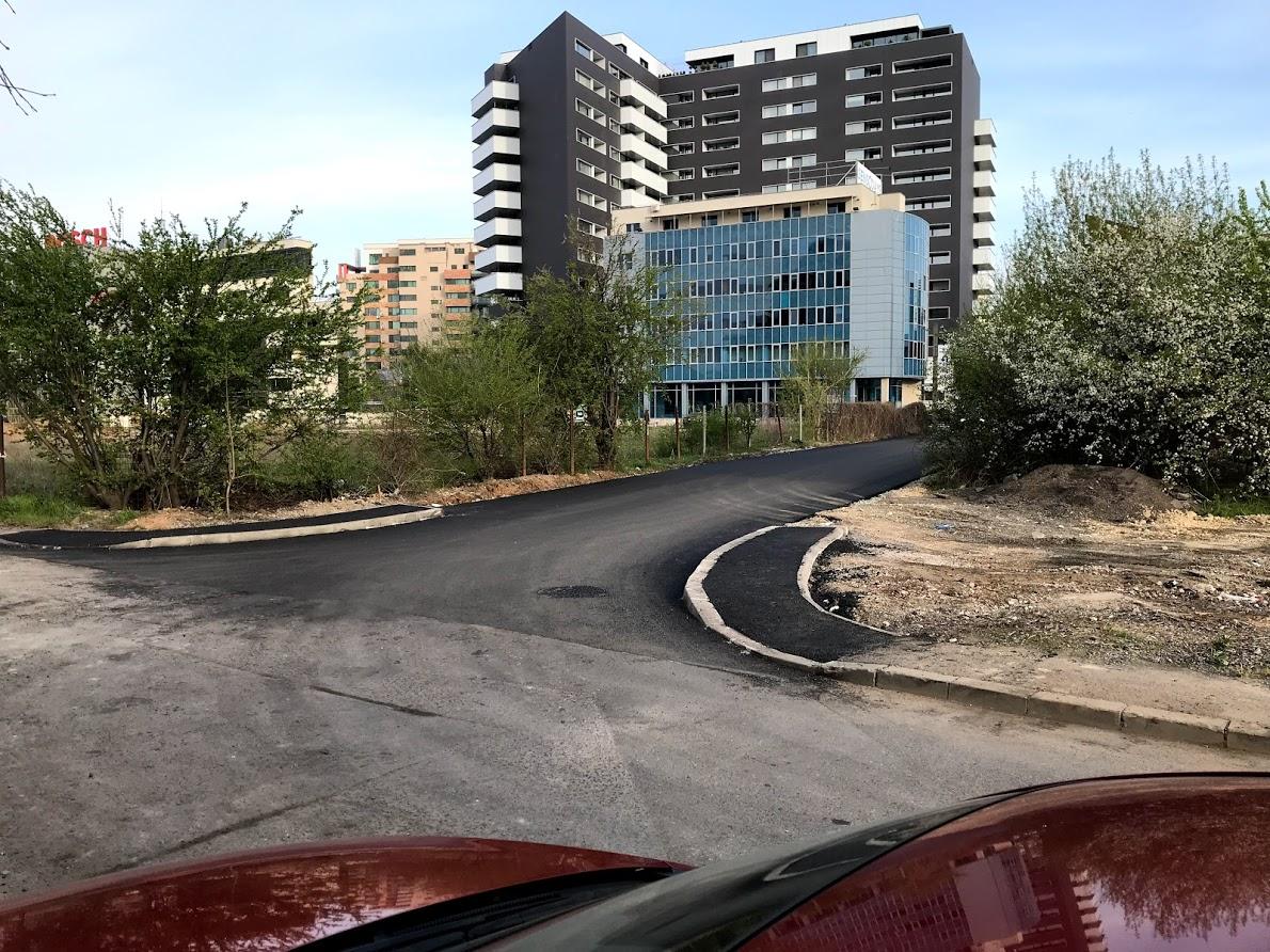 Strada Bilciurești din Sectorul 1 a fost asfaltată la insistențele cetățenilor