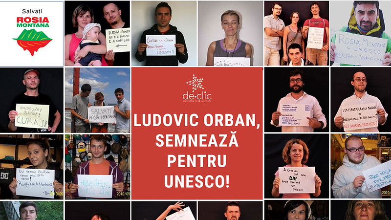 Orban Semneaza Unesco Rosia Montana