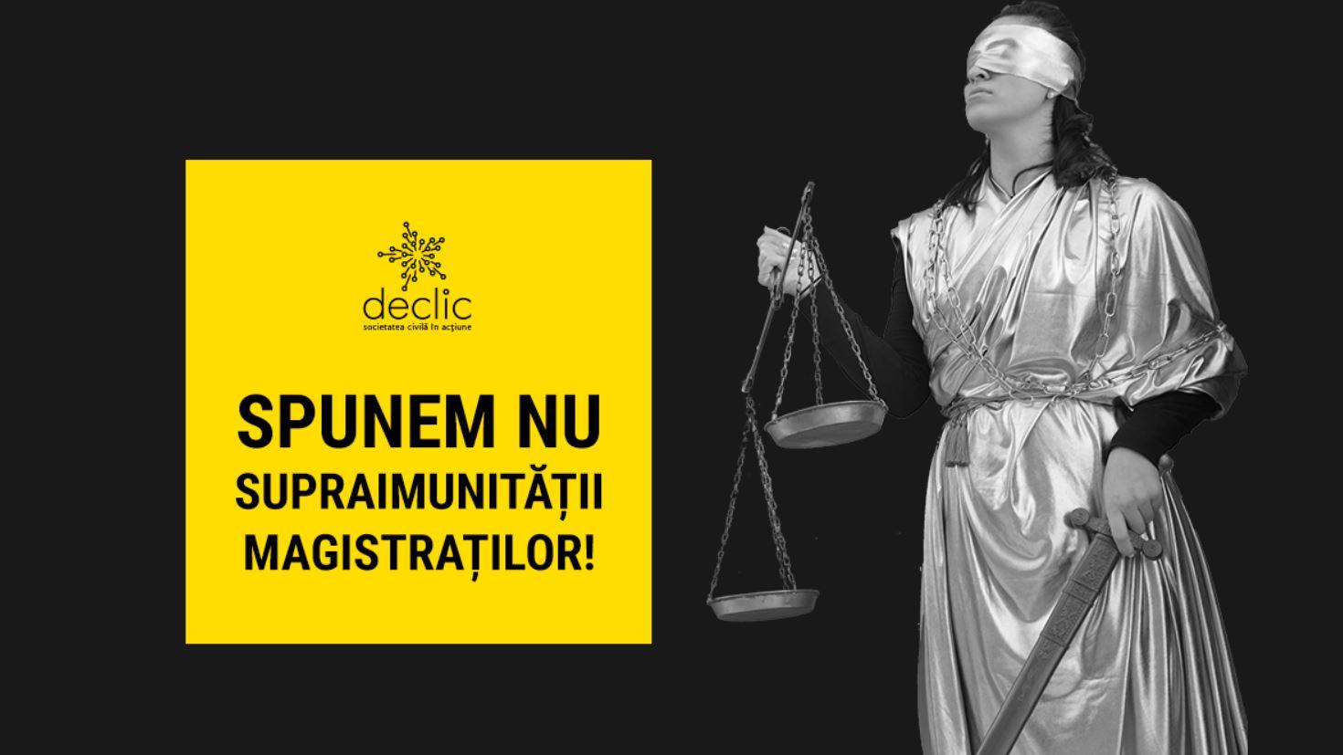 Supraimunitate pentru magistrati?