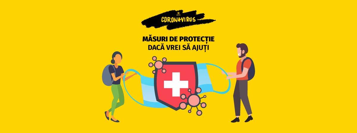 Coronavirus: ce proceduri de igienă trebuie să respecți dacă voluntariezi