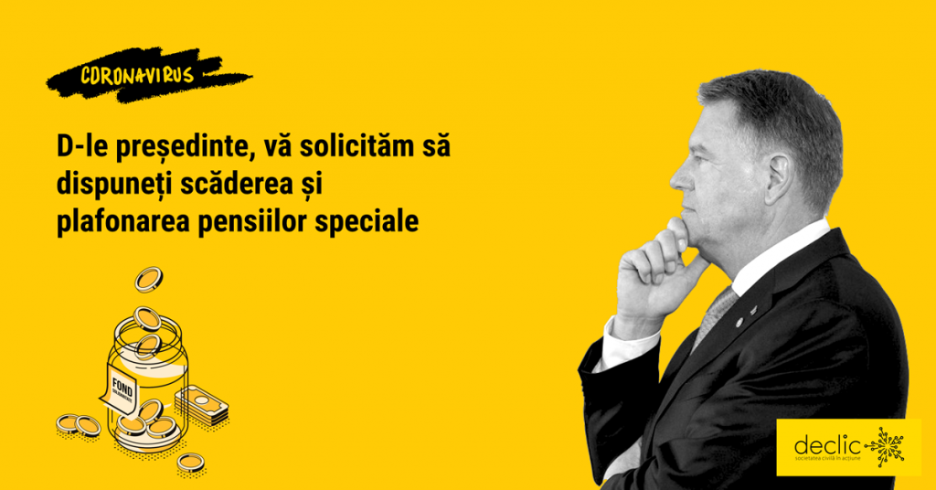 Scrisoare deschisă către președintele Klaus Iohannis