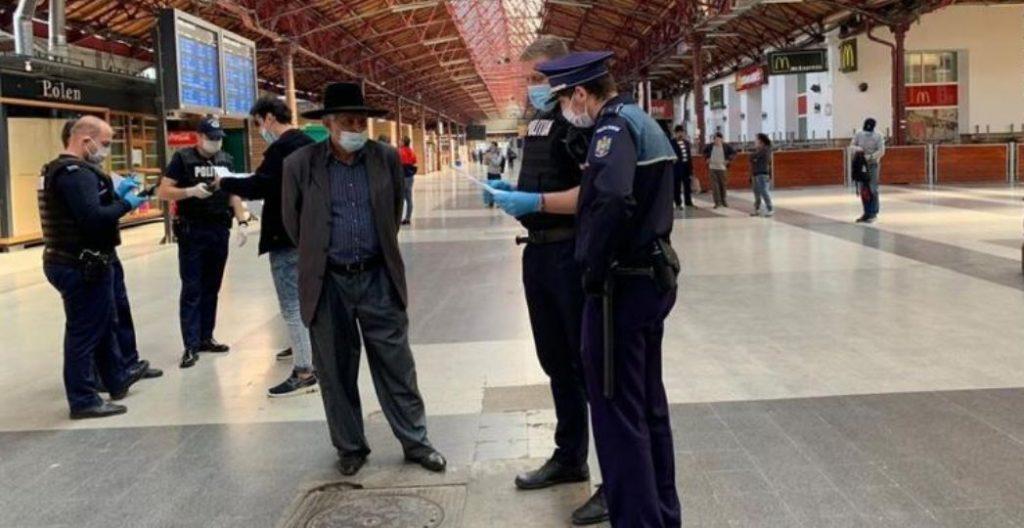 Polițiști metrou corovavirus