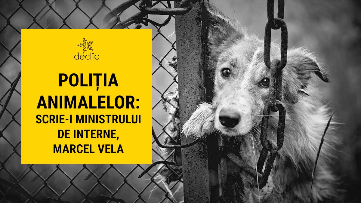 Susținem poliția animalelor
