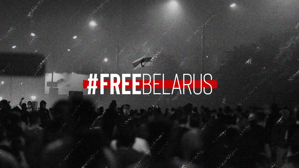 Inițiativele civice din România, solidare cu protestatarii din Belarus