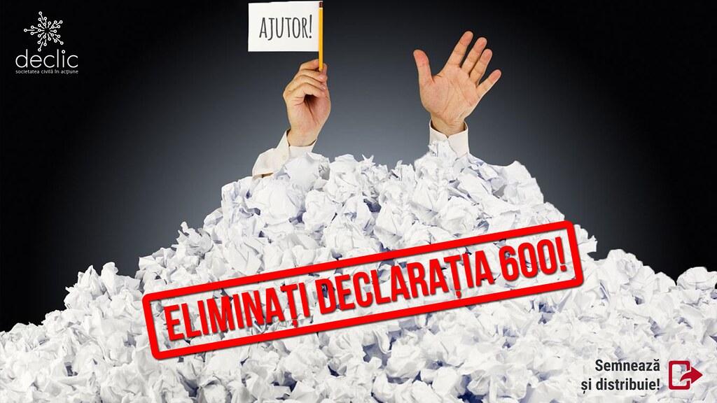 Declarația 600