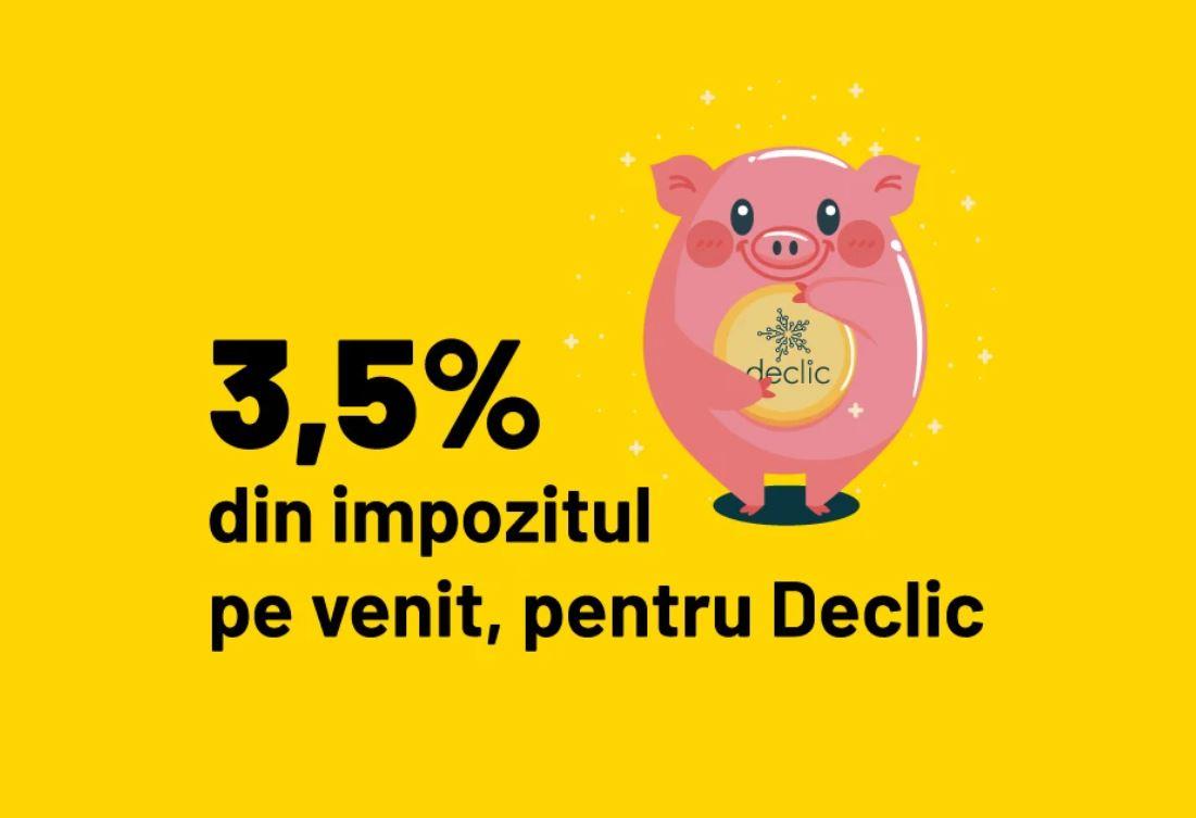3,5% pentru declic