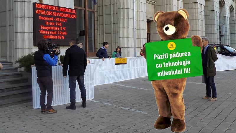 Urs la Ministerul Mediului!
