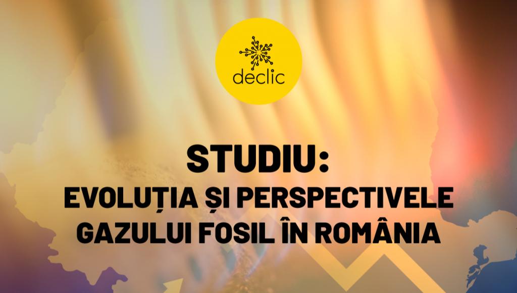 Lansare studiu Evoluția și perspectivele Gazului Fosil în România