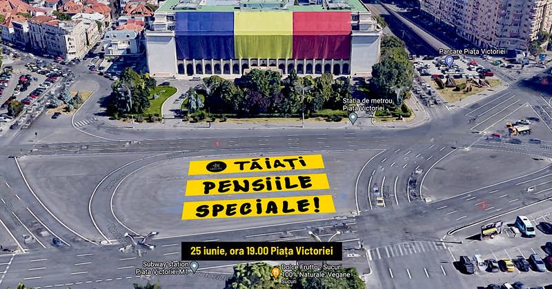 Gata cu pensiile speciale