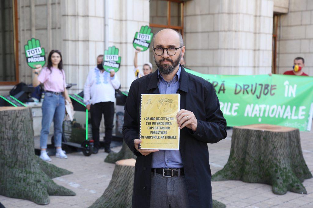 Declic la Min. Mediului: Opriți tăierile copacilor din parcurile naționale!