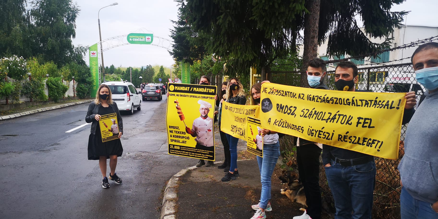 protest mandat mureș